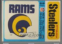 St. Louis Rams, Pittsburgh Steelers [Good to VG‑EX]