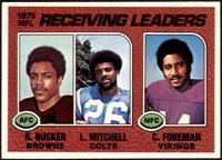 Reggie Rucker, Lydell Mitchell, Chuck Foreman [NM+]
