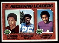 Reggie Rucker, Lydell Mitchell, Chuck Foreman [NM]