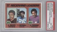 Reggie Rucker, Lydell Mitchell, Chuck Foreman [PSA8NM‑MT]