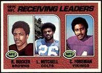 Reggie Rucker, Lydell Mitchell, Chuck Foreman [EXMT]