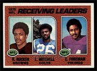 Reggie Rucker, Lydell Mitchell, Chuck Foreman [NMMT]