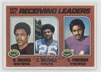 Reggie Rucker, Lydell Mitchell, Chuck Foreman