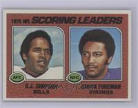 Scoring Leaders (O.J. Simpson, Chuck Foreman) [NearMint]