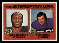 Interception Leaders (Mel Blount, Paul Krause) [NMMT]