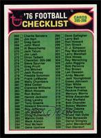 Checklist [NMMT]