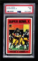 Super Bowl X (Terry Bradshaw) [PSA7NM]