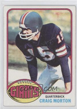 1976 Topps - [Base] #354 - Craig Morton