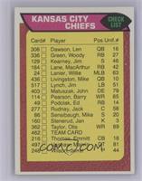 Kansas City Chiefs Team Checklist [NearMint]