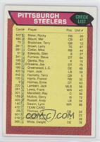 Pittsburgh Steelers Team Checklist [GoodtoVG‑EX]