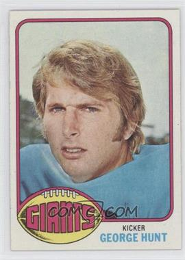 1976 Topps - [Base] #487 - George Hunt