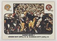 Super Bowl I (Green Bay Packers, Kansas City Chiefs)