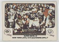 Super Bowl III (New York Jets, Baltimore Colts)