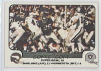 Super Bowl XI (Oakland Raiders, Minnesota Vikings)