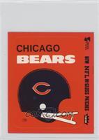 Chicago Bears (Helmet Orange Border)