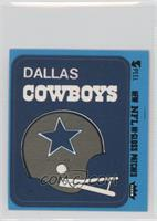 Dallas Cowboys (Helmet Blue Border)
