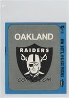 Oakland Raiders (Logo Blue Border)