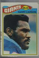 Harry Carson [Poor]