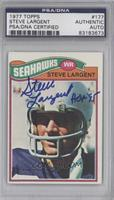 Steve Largent [PSA/DNA Certified Auto]
