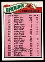 Browns Checklist [EXMT]