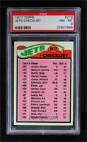 New York Jets Team [PSA8NM‑MT]