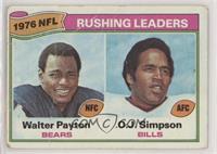 Walter Payton, O.J. Simpson [Poor]