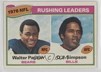 Walter Payton, O.J. Simpson [GoodtoVG‑EX]