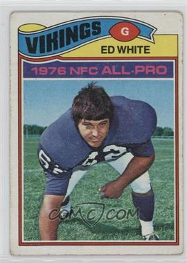 1977 Topps - [Base] #30 - Ed White [Good to VG‑EX]