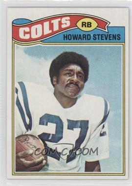 1977 Topps - [Base] #328 - Howard Stevens