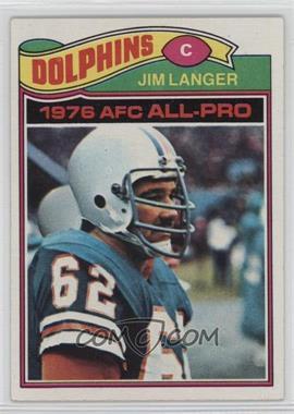 1977 Topps - [Base] #390 - Jim Langer