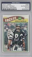 Vince Papale [PSA/DNA Certified Auto]