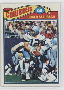 1977 Topps - [Base] #45 - Roger Staubach