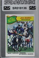 Jim Zorn [CASCertifiedSealed]