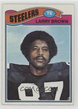 1977 Topps - [Base] #51 - Larry Brown [GoodtoVG‑EX]