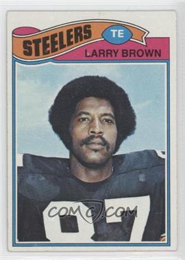 1977 Topps - [Base] #51 - Larry Brown [Good to VG‑EX]