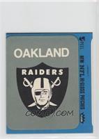 Oakland Raiders Logo (Blue Border)
