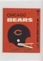Chicago Bears (Helmet Red Border)