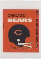 Chicago Bears (Helmet Red Border)