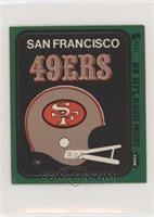 San Francisco 49ers Helmet [GoodtoVG‑EX]
