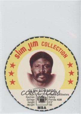 1978 Slim Jim Collection Discs - [Base] #GLED - Glen Edwards