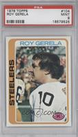Roy Gerela [PSA 9 MINT]