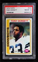 Tony Dorsett [PSA 8 NM‑MT]