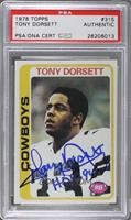 Tony Dorsett [PSA Authentic]