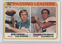 NFL Passing Leaders (Bob Griese, Roger Staubach)