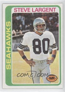 1978 Topps - [Base] #443 - Steve Largent