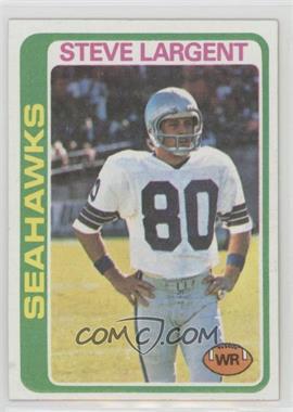 1978 Topps - [Base] #443 - Steve Largent