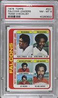 Falcons Team Leaders (Haskel Stanback, Alfred Jenkins, Claude Humphrey, Jeff Me…