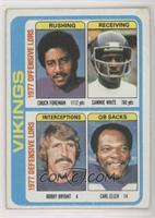 Chuck Foreman, Sammy White, Bobby Bryant, Carl Eller [GoodtoVG̴…