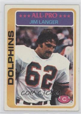 1978 Topps - [Base] #70 - Jim Langer