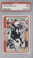 Lyle Blackwood [PSA9]